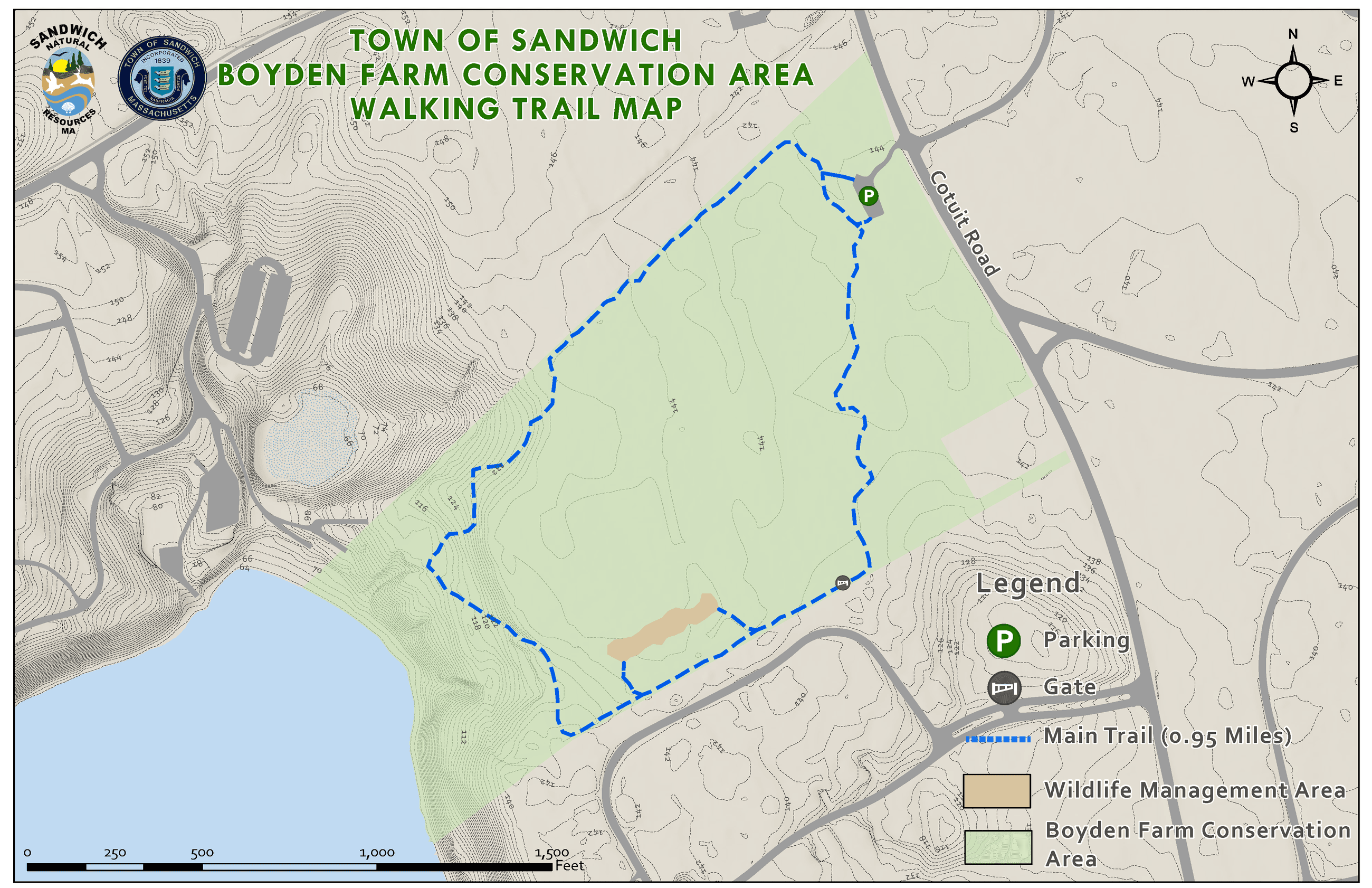 Boyden Farm Conservation Map