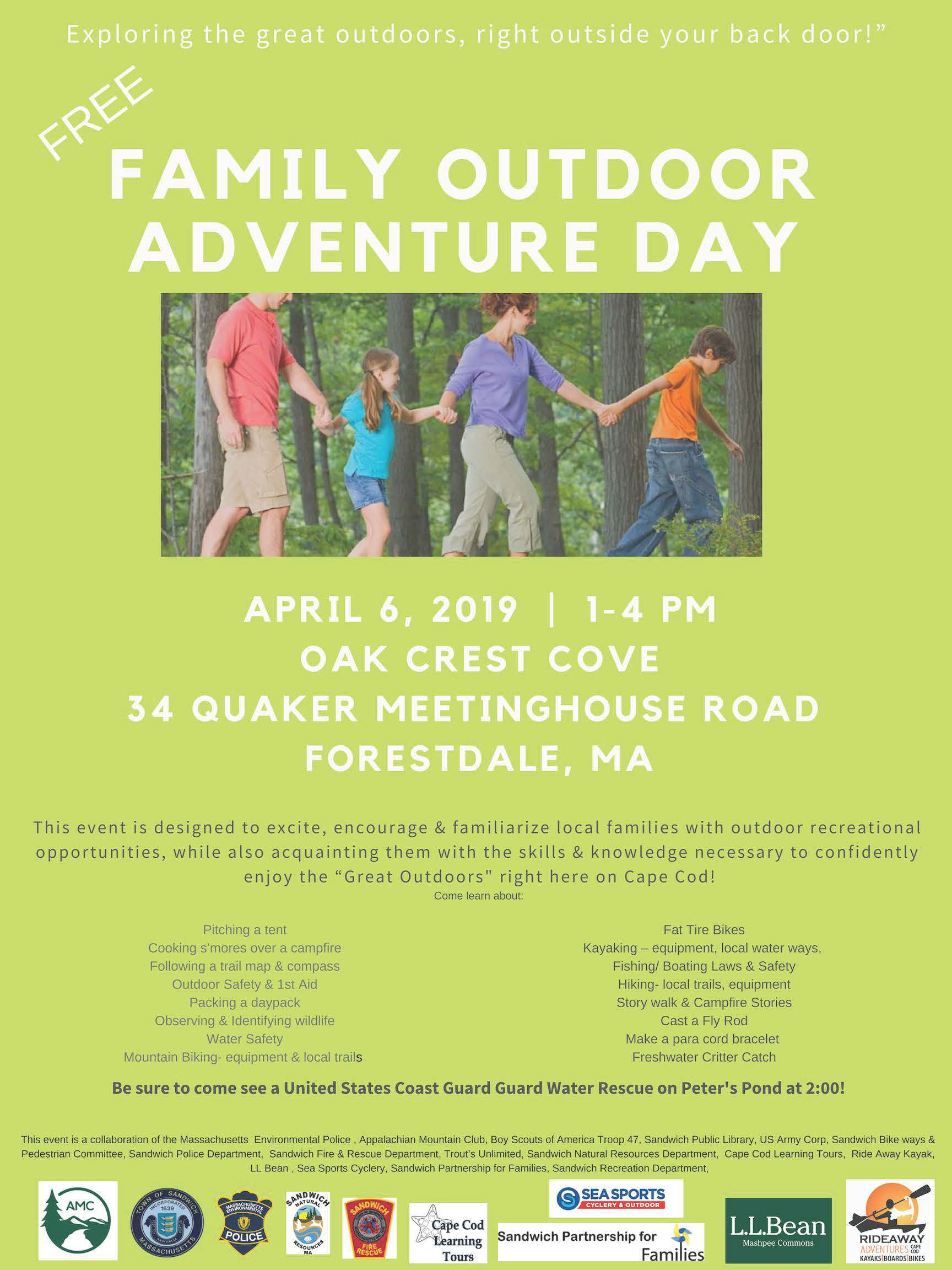 Outdoor Family Day Poster