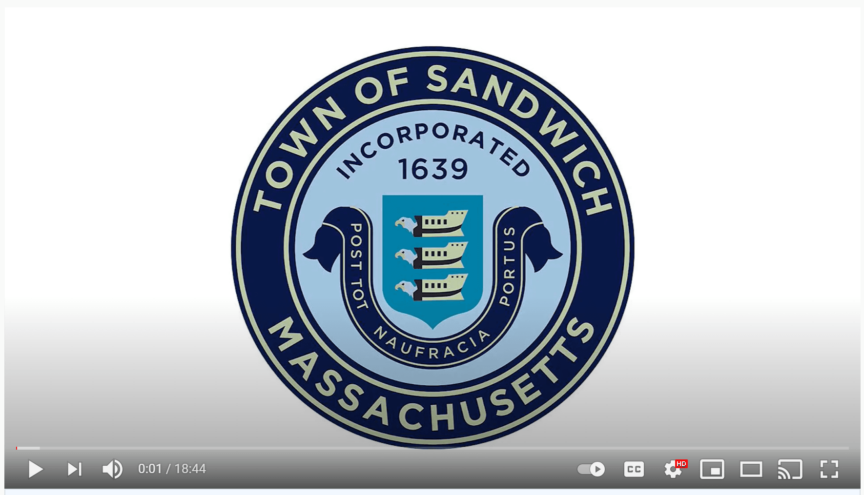 PSA Still Image of Town Seal