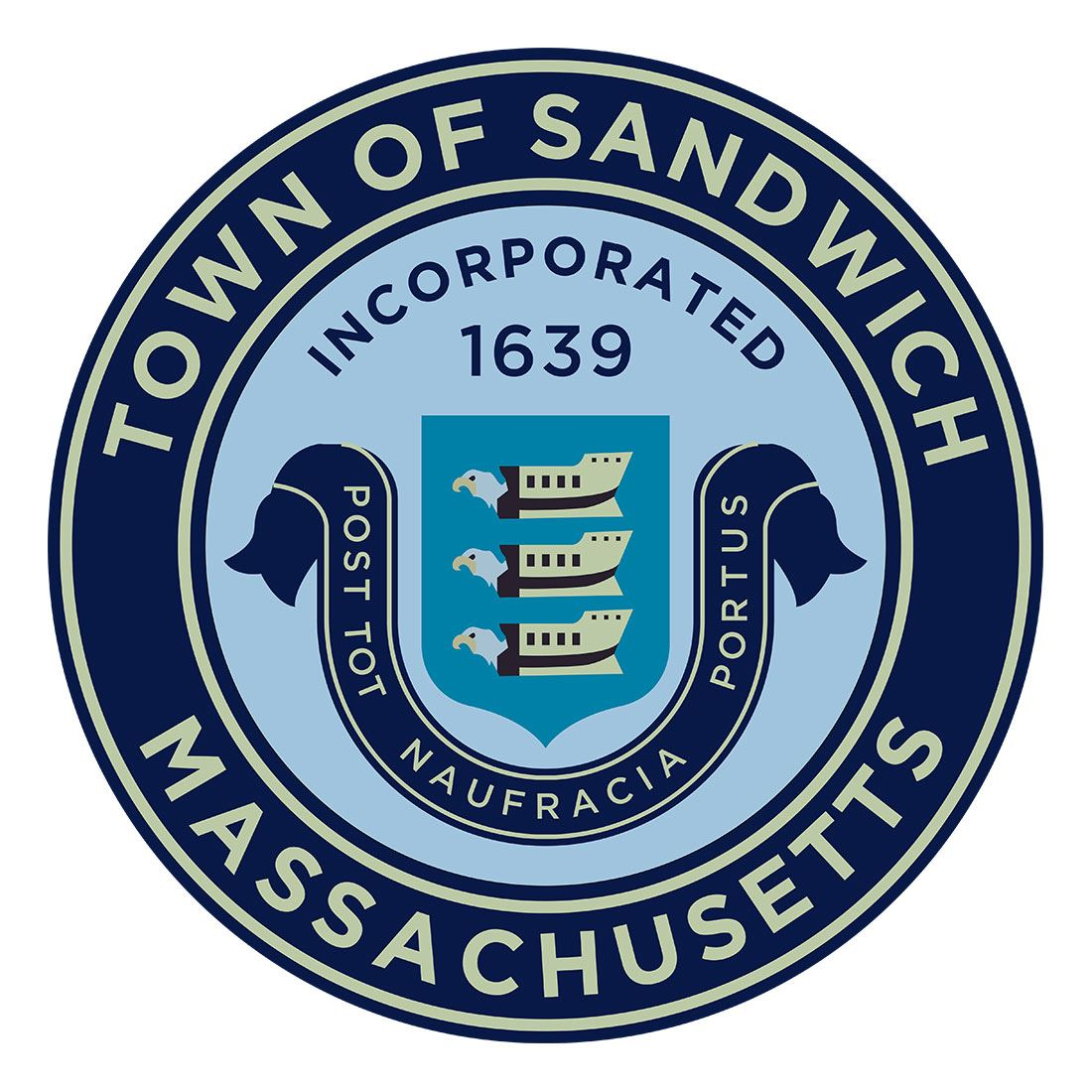 Sandwich Town Seal Small